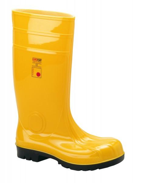 Baustiefel PVC S5 gelb