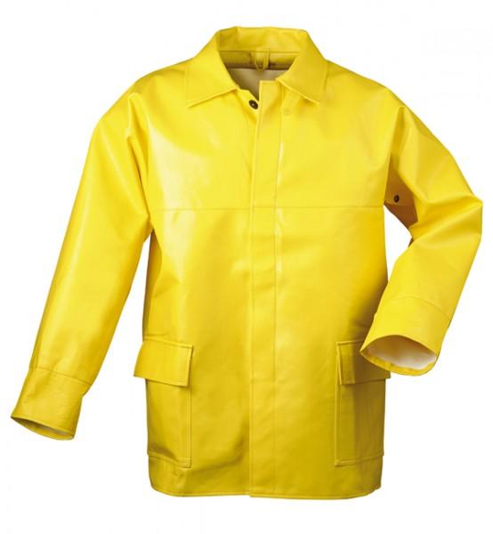 Winterbaujacke PU gelb
