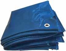 Gewebplanen blau