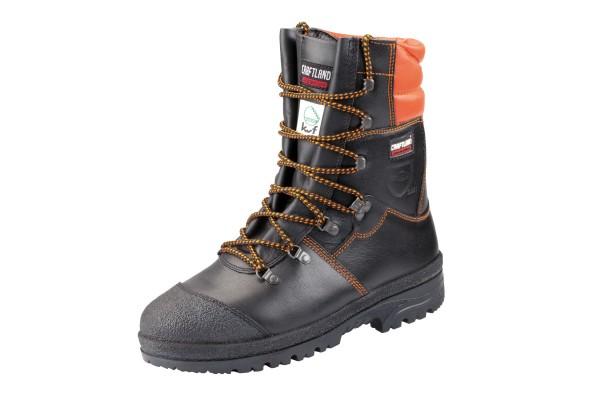 Stiefel Forstschutz Leder