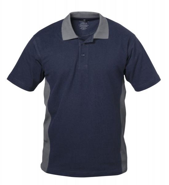 2farbiges Poloshirt