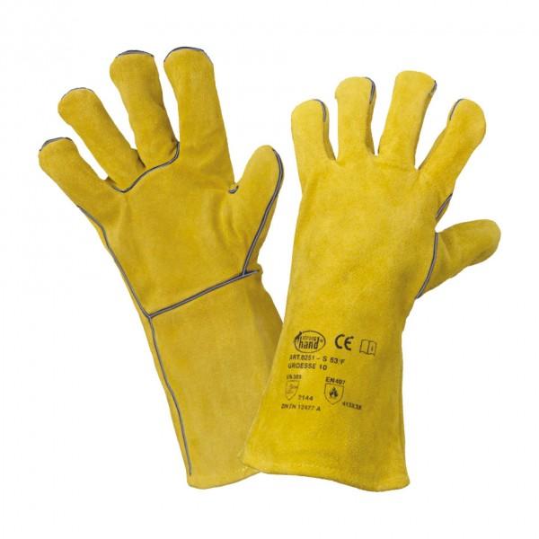 Schweißerhandschuh Spaltleder